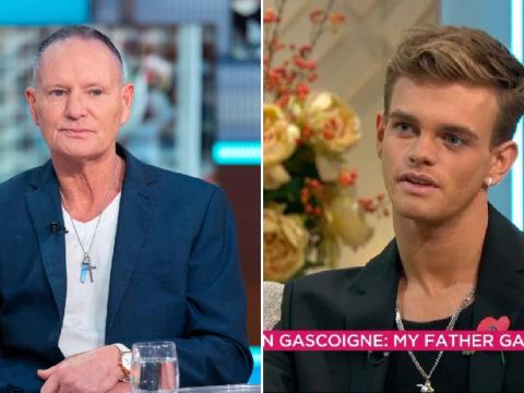 Paul Gascoigne 'loves son no matter what' as Regan addresses bisexuality
