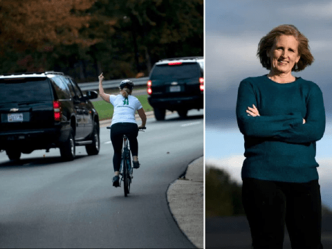Cyclist sacked for giving Trump the finger wins election in Virginia