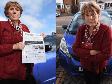 Woman, 79, fined £100 when her car broke down in hospital car park