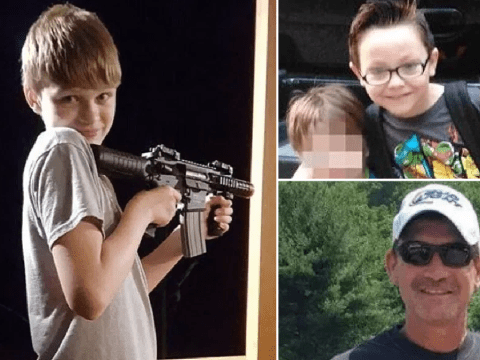 Boy, 14, who killed dad, kissed pet bunny then drove to school and killed boy, 6, faces life in jail