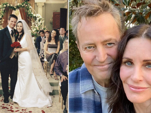 Friends' Matthew Perry 'has always been in love' with on-screen wife Courteney Cox