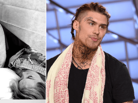 Big Brother star Marco Pierre White Jr shares pics from C-section theatre as he becomes a dad