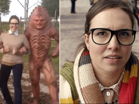 Doctor Who's Ingrid Oliver dances with Zygons in hilarious throwback clip
