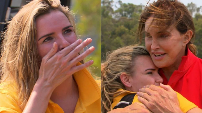 Nadine Coyle and Cailtlyn Jenner on I'm A Celebrity