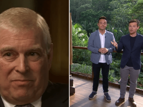 Ant and Dec open I'm A Celebrity with hilarious Prince Andrew sweat dig