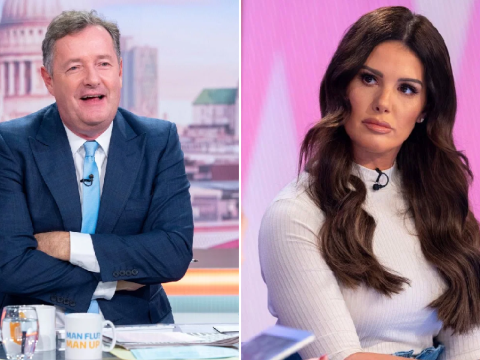Piers Morgan vows to help Rebekah Vardy 'repair image' following Coleen Rooney feud