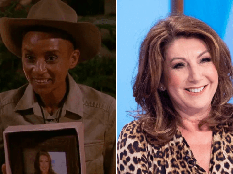 Jane McDonald watched I'm a Celeb's Adele Roberts' luxury item reveal in her pants and gives her seal of approval