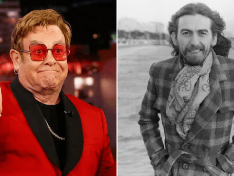 Elton John recalls George Harrison telling him to 'stop putting marching powder up nose' amid cocaine battle