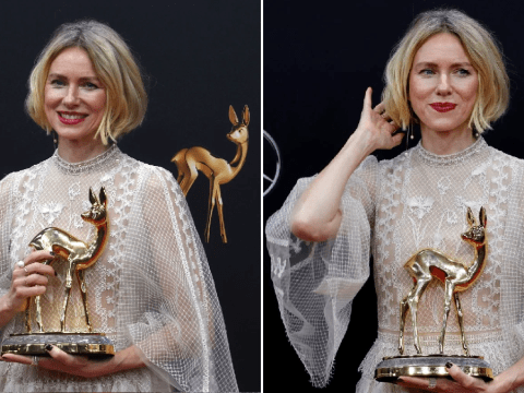 Naomi Watts wins big at Bambi Awards after Game of Thrones prequel is axed