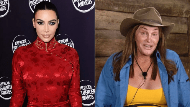 Kim Kardashian has finally addressed Caitlyn Jenner's I'm A Celebrity stint
