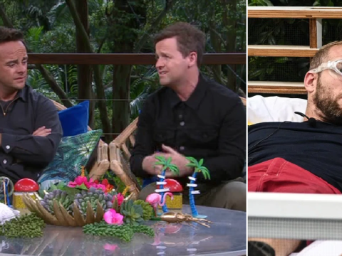 Declan Donnelly blames James Haskell for failing 'impossible' I'm A Celebrity trial