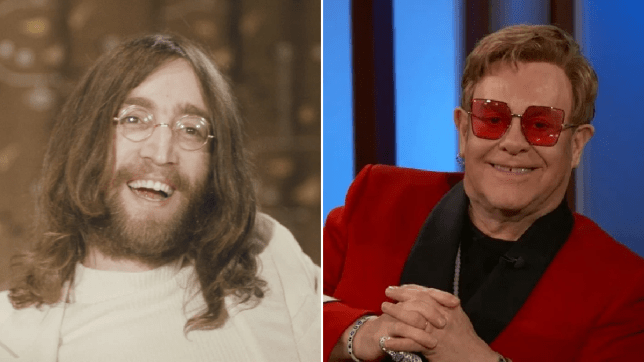 Elton John Intimidated By John Lennon As He Explains How Bet Led To Iconic Gig Metro News
