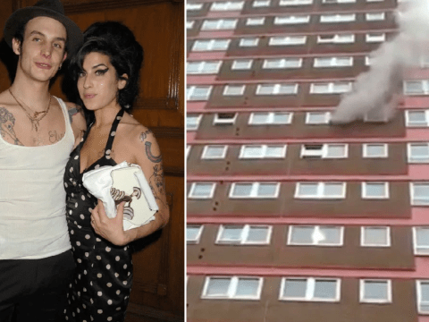 Amy Winehouse's ex Blake Fielder-Civil 'arrested after setting fire to flat and laughing' while on 'drug binge'