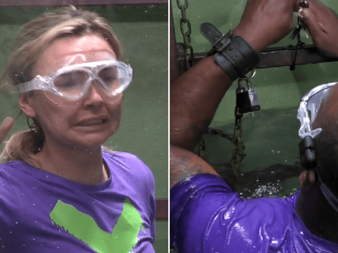 I'm A Celebrity first look: Ian Wright and Nadine Coyle panic in Bushtucker trial Sinister Circus: 'I can't do it'
