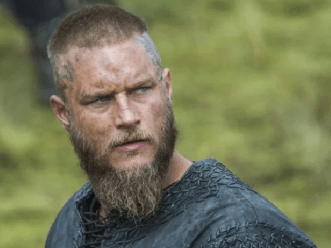 Vikings star Alex Høgh Andersen describes Travis Fimmel's scent after spending two months on his back