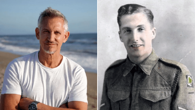 Gary Lineker and Grandfather