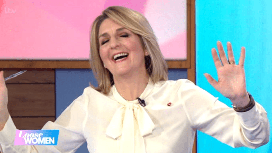 Kay Adams make dig at Cheryl on Loose Women