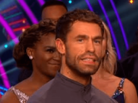 Strictly Come Dancing's Kelvin Fletcher 'physically sick' ahead of performance