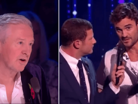 Thom Evans claps back at Louis Walsh on X Factor: Celebrity and Twitter is loving it