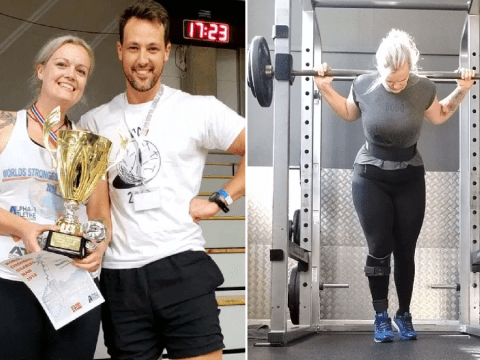 Londoner becomes world's strongest disabled woman after life-changing accident