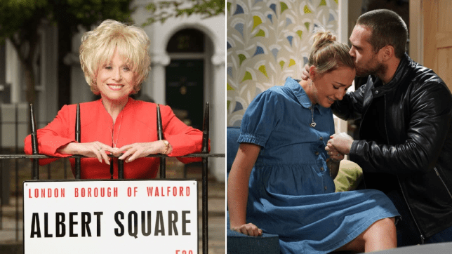 Peggy Mitchell and Louise Mitchell