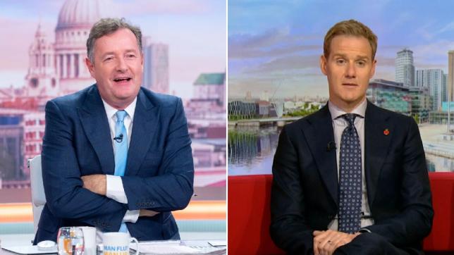 Piers Morgan gloats at BBC Breakfast's Dan Walker over ratings – despite Good Morning Britain coming second
