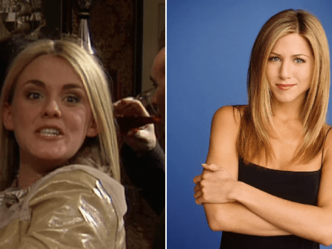 Sally Lindsay cringes at Corrie throwback to first ever scene – and her 'Jennifer Aniston' hair cut attempt