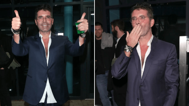 Simon Cowell at X Factor: Celebrity