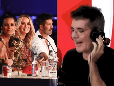 Simon Cowell approves Amanda Holden's Britain's Got Talent 'contract' as she signs up for 'another 20 years'