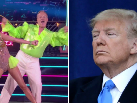 Donald Trump deletes tweet encouraging fans to vote for Sean Spicer on Dancing With The Stars after he's eliminated
