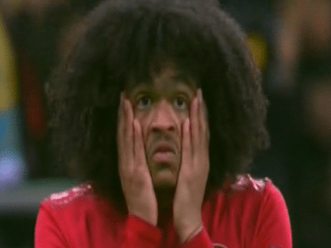 Robbie Savage criticises 'lazy' Tahith Chong for missed sitter as Manchester United collapse at Astana