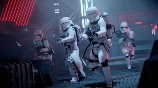 Star Wars: tangkapan layar Battlefront 2 Celebration Edition