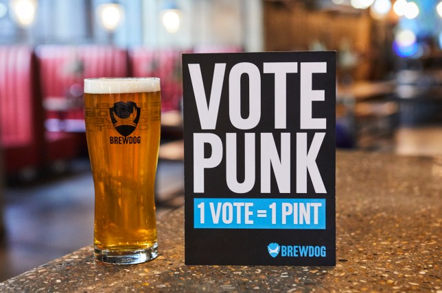 BrewDog free pints for election day