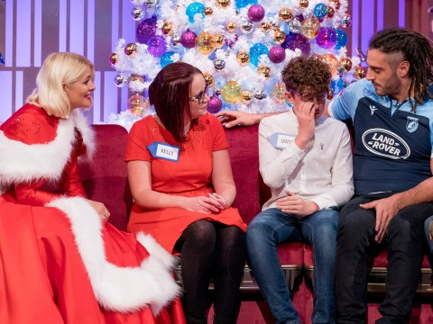 Holly Willoughby tears up over 12-year-old's efforts to help disadvantaged families as she surprises him with Lapland holiday