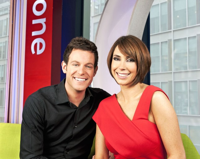 The One Show's Matt Baker and Alex Jones