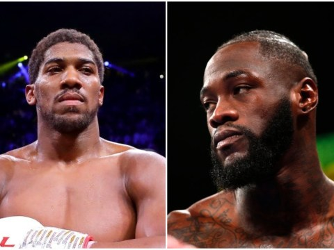 Anthony Joshua says Deontay Wilder will not accept step-aside offer to avoid Tyson Fury