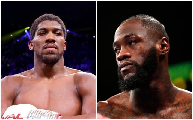Deontay Wilder believes Anthony Joshua is avoiding him