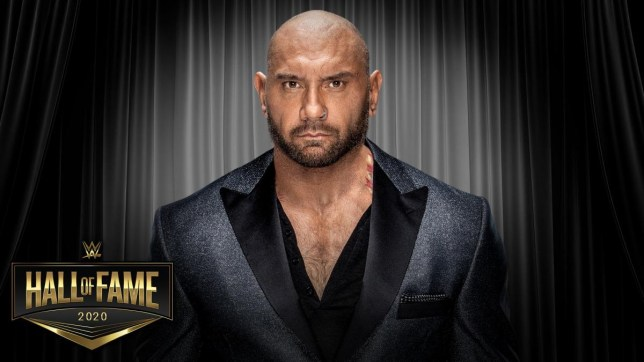 Dave Bautista makes special WWE Hall of Fame induction request