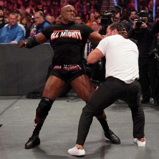 Bobby Lashley and Rusev brawl-510b