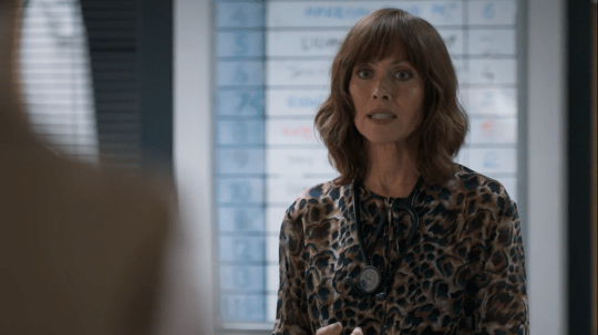 Connie returns to Casualty