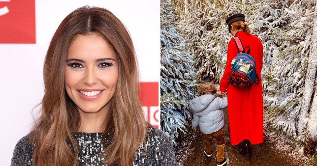 Cheryl Shares Adorable New Christmas Photo Of Son Bear Payne Metro News James asks liam payne about his baby boy, specifically why he's named bear and not james, and the couch gets carried away with the idea that liam's son is. cheryl shares adorable new christmas