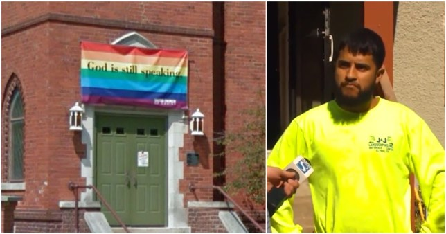 Man jailed for 15 years for pulling down gay flag