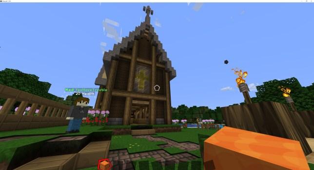 Minecraft Vatican server