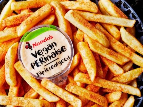 Nando's is launching vegan PERinaise