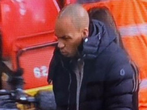 Liverpool star Fabinho spotted at Anfield on crutches and wearing a protective boot