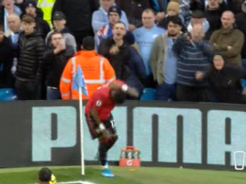 Man Utd stars Jesse Lingard and Fred pelted with missiles thrown by Man City fans