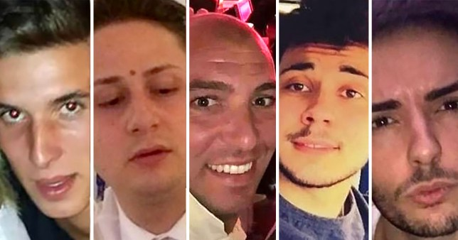 Five men jailed for gang raping mum on holiday