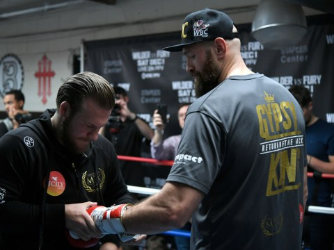 Conor McGregor advises Tyson Fury to stay with coach Ben Davison after split confirmed
