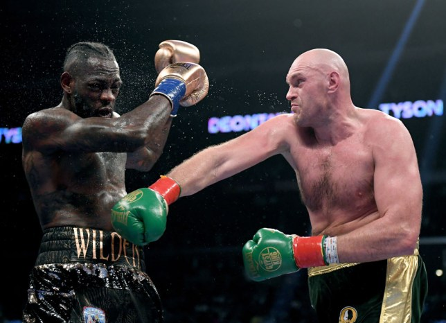 Tyson Fury is preparing for his rematch against Deontay Wilder on February 22