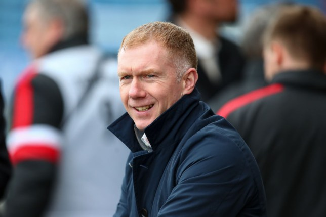 Paul Scholes has backed Ole Gunnar Solskjaer to turn things around at Manchester United